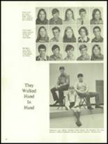 1972 Harrison High School Yearbook Page 40 & 41