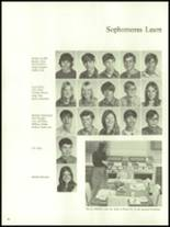 1972 Harrison High School Yearbook Page 42 & 43