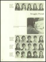 1972 Harrison High School Yearbook Page 48 & 49