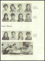 1972 Harrison High School Yearbook Page 52 & 53