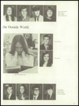 1972 Harrison High School Yearbook Page 70 & 71
