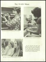 1972 Harrison High School Yearbook Page 98 & 99