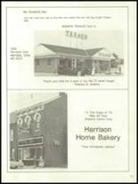 1972 Harrison High School Yearbook Page 254 & 255