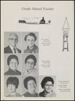 1968 Calera High School Yearbook Page 12 & 13