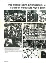 1985 Pensacola High School Yearbook Page 36 & 37