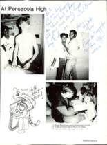 1985 Pensacola High School Yearbook Page 38 & 39