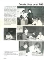 1985 Pensacola High School Yearbook Page 42 & 43