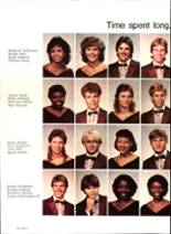 1985 Pensacola High School Yearbook Page 58 & 59