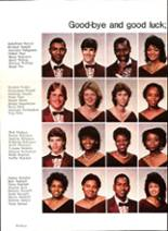 1985 Pensacola High School Yearbook Page 64 & 65