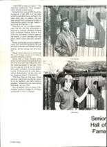 1985 Pensacola High School Yearbook Page 76 & 77