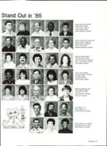 1985 Pensacola High School Yearbook Page 130 & 131