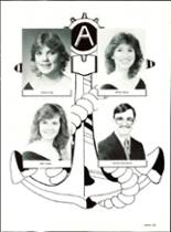 1985 Pensacola High School Yearbook Page 136 & 137