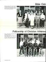 1985 Pensacola High School Yearbook Page 144 & 145