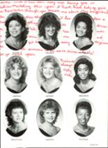 1985 Pensacola High School Yearbook Page 154 & 155