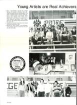 1985 Pensacola High School Yearbook Page 180 & 181