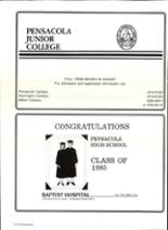 1985 Pensacola High School Yearbook Page 222 & 223