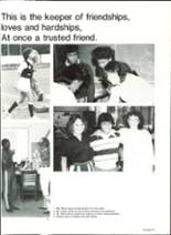 1985 Pensacola High School Yearbook Page 254 & 255