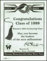 1999 Wasson High School Yearbook Page 252 & 253