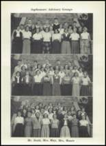 1952 Washington Irving High School Yearbook Page 34 & 35