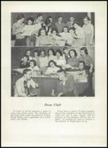1952 Washington Irving High School Yearbook Page 44 & 45