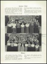 1952 Washington Irving High School Yearbook Page 54 & 55