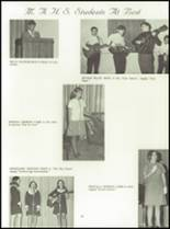 1969 Mt. Airy High School Yearbook Page 72 & 73