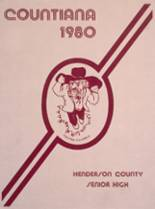 1980 Yearbook Henderson County High School