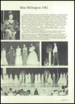 1983 Millington Central High School Yearbook Page 50 & 51