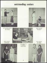 1955 Springfield High School Yearbook Page 38 & 39