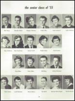 1955 Springfield High School Yearbook Page 44 & 45