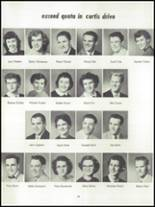 1955 Springfield High School Yearbook Page 46 & 47
