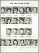 1955 Springfield High School Yearbook Page 50 & 51