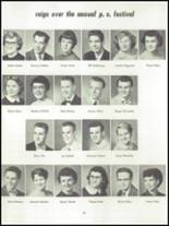 1955 Springfield High School Yearbook Page 52 & 53
