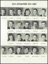 1955 Springfield High School Yearbook Page 54 & 55