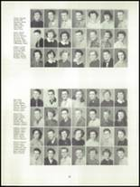 1955 Springfield High School Yearbook Page 70 & 71