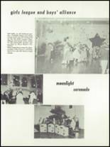 1955 Springfield High School Yearbook Page 82 & 83