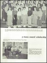 1955 Springfield High School Yearbook Page 104 & 105