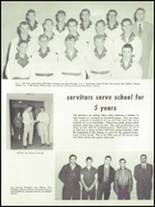 1955 Springfield High School Yearbook Page 108 & 109