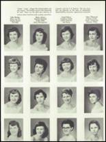 1955 Springfield High School Yearbook Page 116 & 117