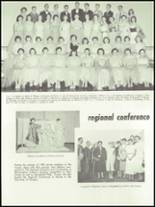 1955 Springfield High School Yearbook Page 122 & 123