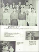 1955 Springfield High School Yearbook Page 124 & 125