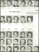 1955 Springfield High School Yearbook Page 126 & 127