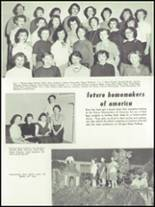 1955 Springfield High School Yearbook Page 128 & 129