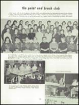 1955 Springfield High School Yearbook Page 132 & 133