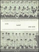 1955 Springfield High School Yearbook Page 158 & 159