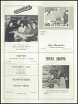 1955 Springfield High School Yearbook Page 174 & 175
