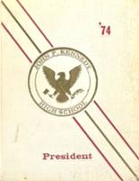 1974 Yearbook John F. Kennedy High School