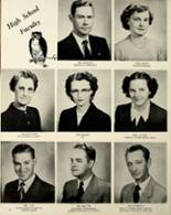 1953 Houston High School Yearbook Page 10 & 11
