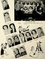 1953 Houston High School Yearbook Page 14 & 15