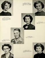 1953 Houston High School Yearbook Page 18 & 19